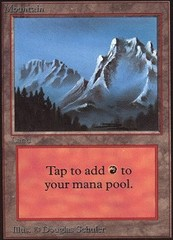 Mountain (Light Blue Sky/Snow) on Channel Fireball