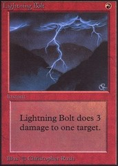 Lightning Bolt on Channel Fireball
