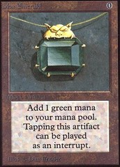 Mox Emerald on Channel Fireball