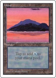 Island (Pink & Orange Dusk)