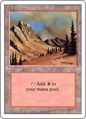 Mountain (Dark Green Clouds/Blue Sky) on Channel Fireball
