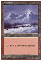 Mountain (430) (Winter) on Channel Fireball