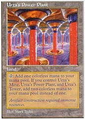 Urza's Power Plant on Channel Fireball