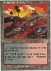 Sulfurous Springs on Channel Fireball