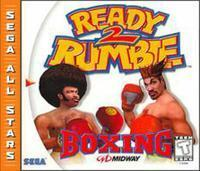 Ready 2 Rumble Boxing Sega All-Stars