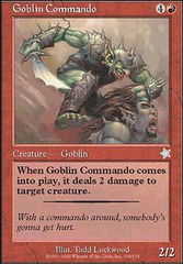Goblin Commando on Channel Fireball