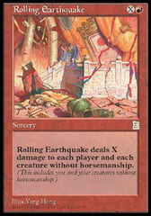 Rolling Earthquake on Channel Fireball
