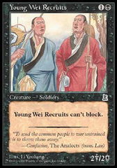 Young Wei Recruits