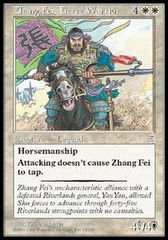 Zhang Fei, Fierce Warrior on Channel Fireball