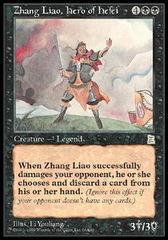 Zhang Liao, Hero of Hefei