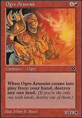 Ogre Arsonist on Channel Fireball
