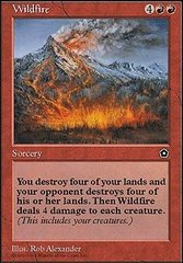 Wildfire on Channel Fireball