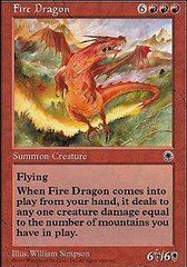 Fire Dragon on Channel Fireball