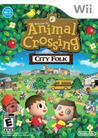 Animal Crossing City Folk Game Only!
