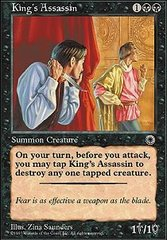 King's Assassin on Channel Fireball