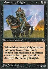 Mercenary Knight on Channel Fireball