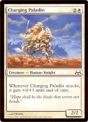 Charging Paladin on Channel Fireball