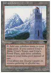 Urza's Tower (Mountains) on Channel Fireball