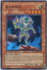Alien Kid - CRMS-EN084 - Super Rare - 1st Edition on Channel Fireball