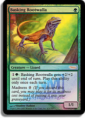 Basking Rootwalla - (FNM Foil 2007)