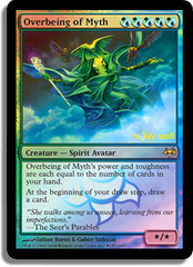 Overbeing of Myth - Foil - Prerelease Promo