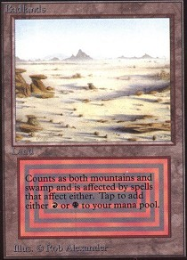 Badlands (Not Tournament Legal)