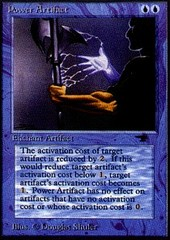 Power Artifact on Channel Fireball