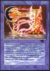 Transmute Artifact on Channel Fireball