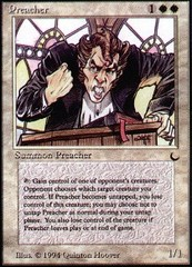 Preacher on Channel Fireball