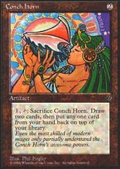 Conch Horn on Channel Fireball