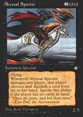 Abyssal Specter on Channel Fireball