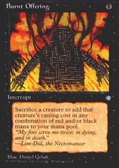 Burnt Offering on Channel Fireball