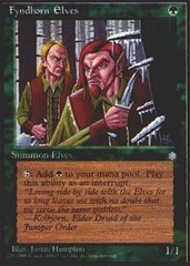 Fyndhorn Elves on Channel Fireball