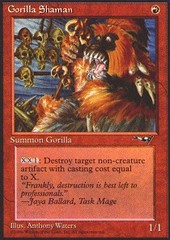 Gorilla Shaman (Facing Left)