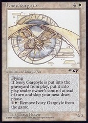 Ivory Gargoyle on Channel Fireball