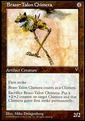 Brass-Talon Chimera on Channel Fireball