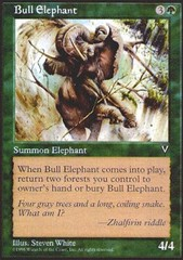 Bull Elephant on Channel Fireball