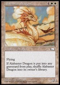 Alabaster Dragon
