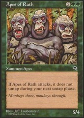 Apes of Rath on Channel Fireball