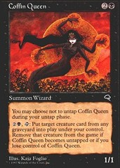 Coffin Queen on Channel Fireball