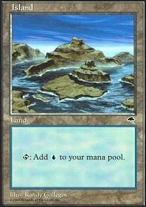 Island (Lots of islands, bright ocean)