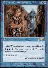 Ertai, Wizard Adept on Channel Fireball