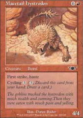 Macetail Hystrodon