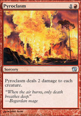 Pyroclasm on Channel Fireball
