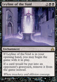 Leyline of the void magic singles ravnica block for Sideboard yugioh