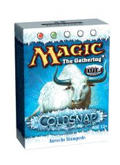 Coldsnap Aurochs Stampede Theme Deck