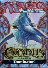 Exodus Dominator Precon Theme Deck