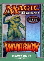 Invasion Heavy Duty Precon Theme Deck