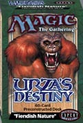 Urza's Destiny Fiendish Nature Precon Theme Deck