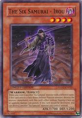 The Six Samurai - Irou - GLD2-EN022 - Common - Limited Edition on Channel Fireball